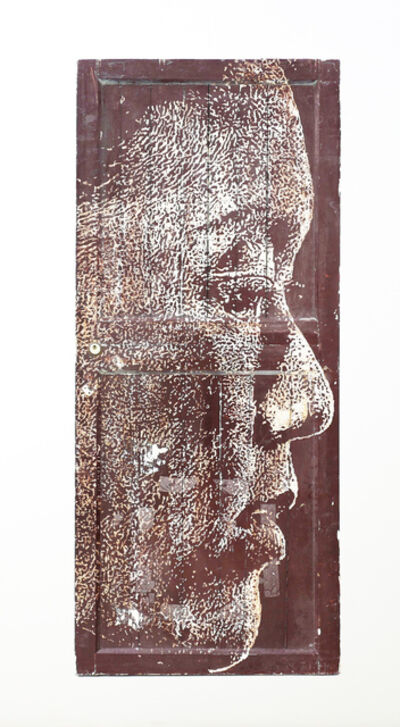 Vhils, 'Yield series #5', 2019