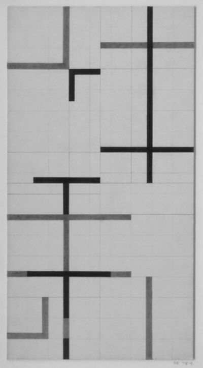 Alan Reynolds, 'Drawing 78-79', 1978-1979