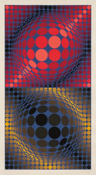 Victor Vasarely, 'Hiouz', 1975