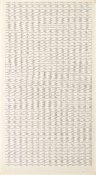 Dadamaino, 'Lettre 12', 1979