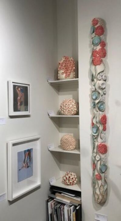 Jane B. Grimm, 'Coral Reef  II / Sea Inspired Ceramic Wall Sculpture', 2012
