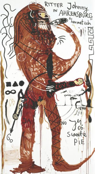 "Jonathan Meese, 'Dr. HOP Phibes ""Mann+Fräulein"" im Süßen', 2006"