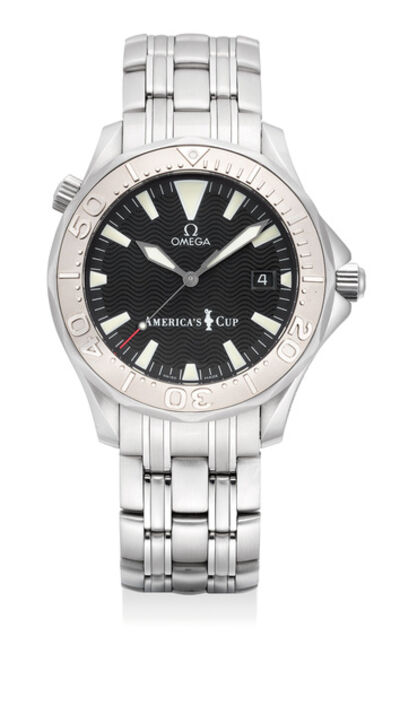 OMEGA, 'A fine and attractive limited edition wristwatch with helium gas escape valve, date and bracelet with original presentation box and international guarantee, numbered 388 of a limited edition of 9999 pieces', 2000