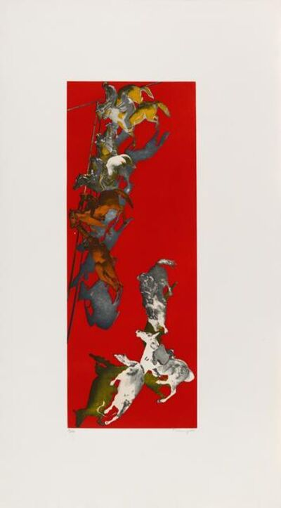 Norbert Tadeusz, 'Untitled (Pferde in Rot)', 2001