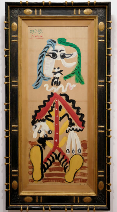 Pablo Picasso, 'Homme Assis', 1969
