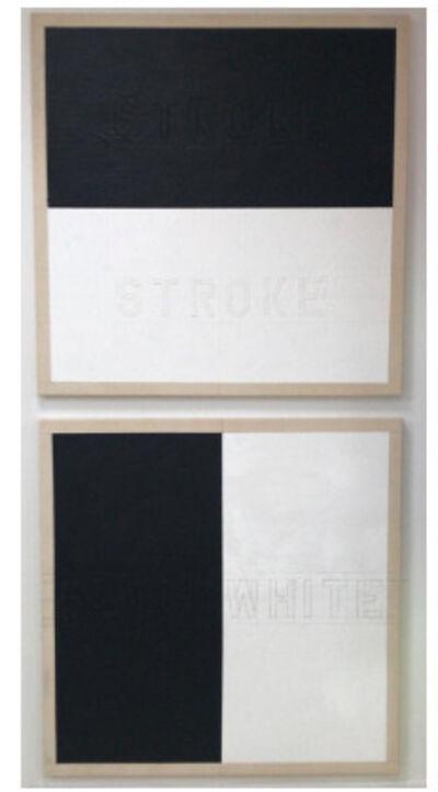 Sigfredo Chacón, 'StrokeStroke BlackWhite', 1974/2018