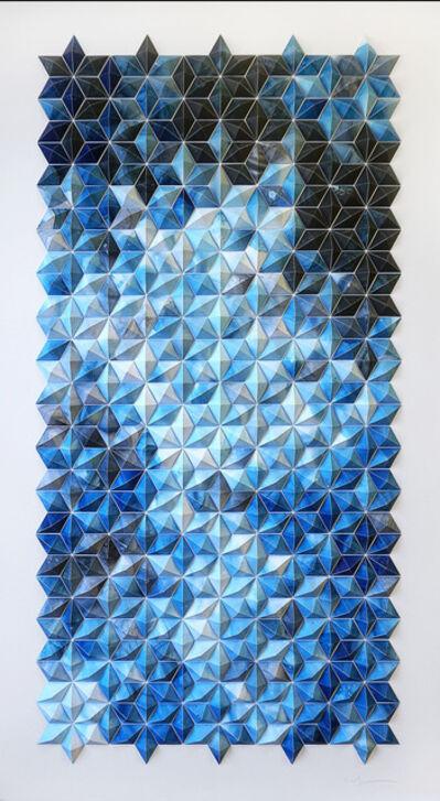 Matt Shlian, 'Breath Castles in Blue (II)', 2015