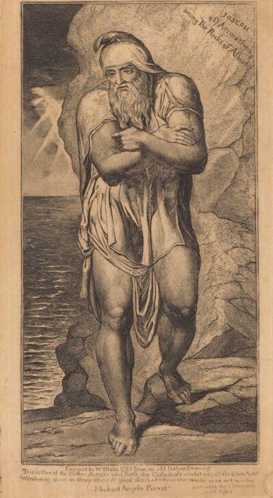 William Blake (1757-1827), 'Joseph of Arimathea Among the Rocks of Albion', ca. 1803/1810
