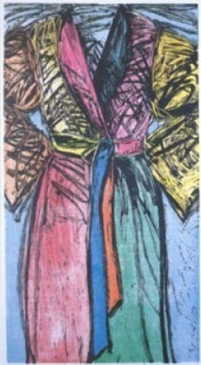 Jim Dine, 'Fourteen Color Woodcut Bathrobe', 1982