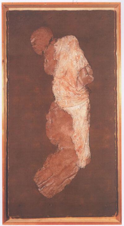 Jürgen Brodwolf, 'Figur gebrannte Siena', 1976-1977