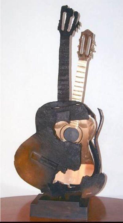 Arman, 'Guitare Brulee et Polie', 2004
