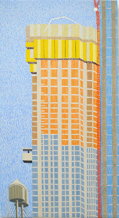 Yvonne Jacquette, 'Tall Madison Ave & B'Way', 2019