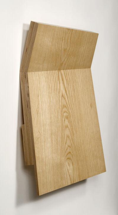 Richard Bottwin, 'Wood Fold #1', 2009