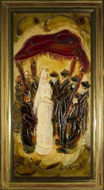 Raoul Raymond, 'Jewish Wedding Chuppah Scence, Judaica', 20th Century