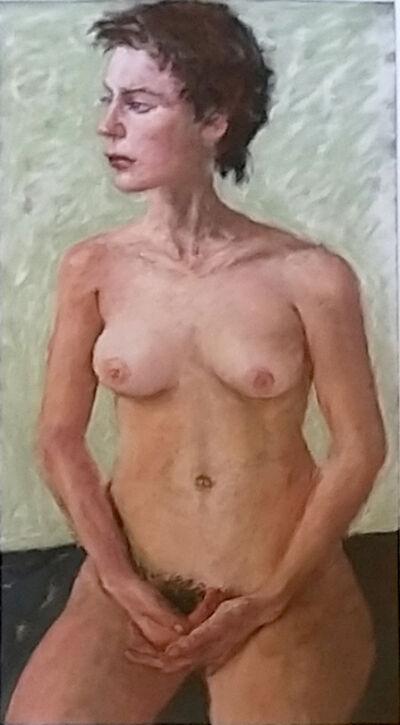 Avigdor Arikha, 'Nude Study', 2000