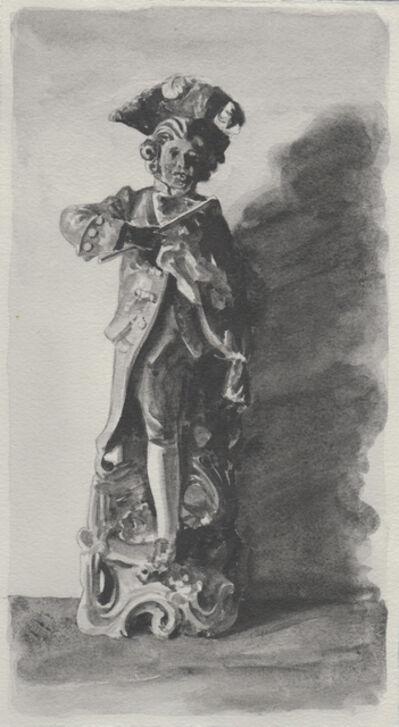 Richard Moon, 'Aristocrat XIV (monochrome version)', 2020