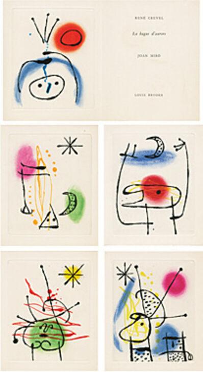 Joan Miró, 'La bague d'aurore (René Crevel) (Der Ringe der Morgenröte)', 1957
