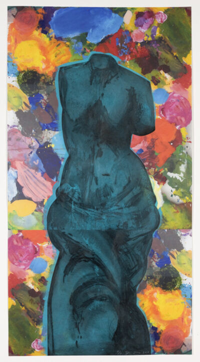 Jim Dine, 'Dark Blue Cloud', 2010