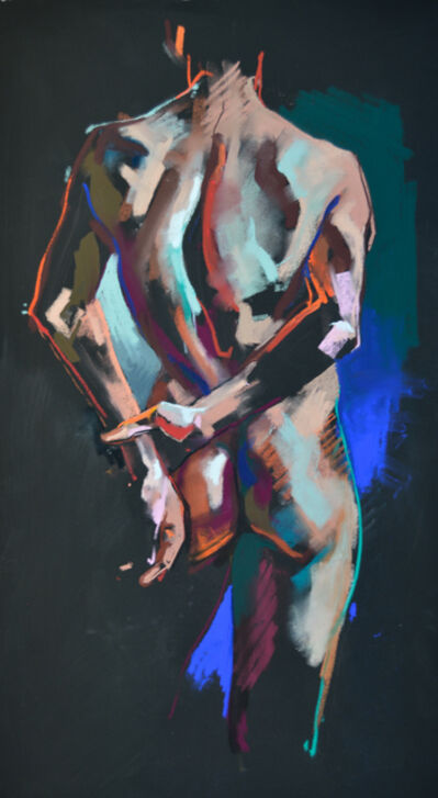 Crawfurd Adamson, 'Standing Man hands behind back', 2015