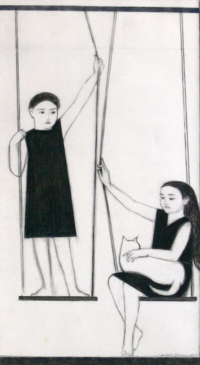 Will Barnet, 'The Swing', ca. 1974