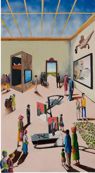 Benny Andrews, 'Idea Museum (Interior Series)', 2002
