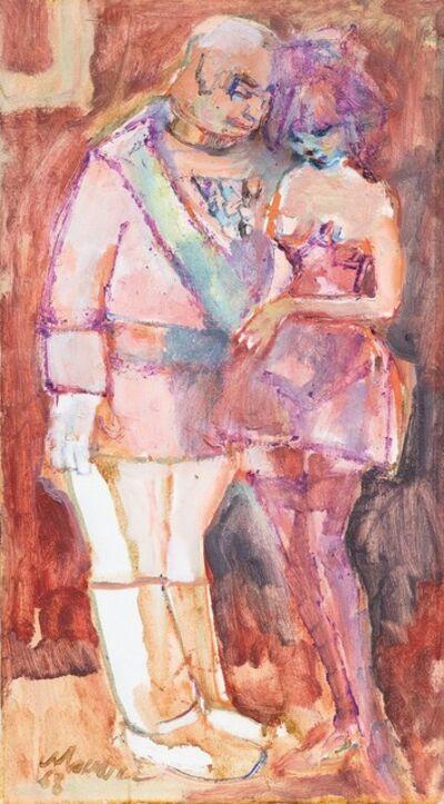Mino Maccari, 'Couple', 1993