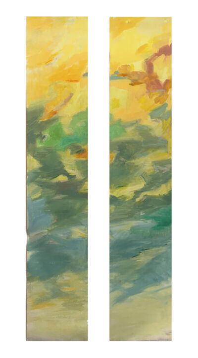 Joy Nagy, 'Yellow - Turquoise I & II', 2017-2020