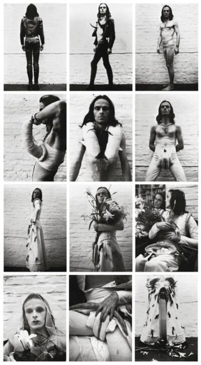 Jürgen Klauke, 'SELF-PERFORMANCE', 1972