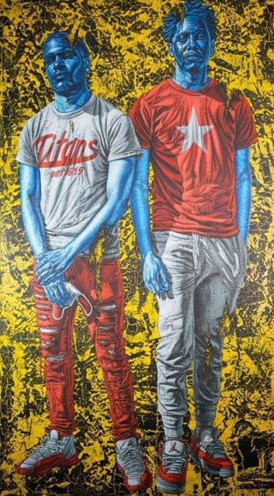 Alfred Conteh, 'Still Standing (Evan and Aaron)', 2020