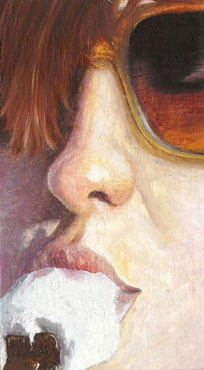 Nele Ouwens, 'Judith eating ice-cream', 2009
