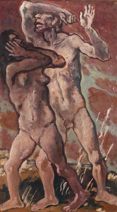 Felice Carena, 'Adamo ed Eva', 1954