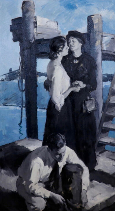 Pruett Alexander Carter, 'The Farewell', 20th Century