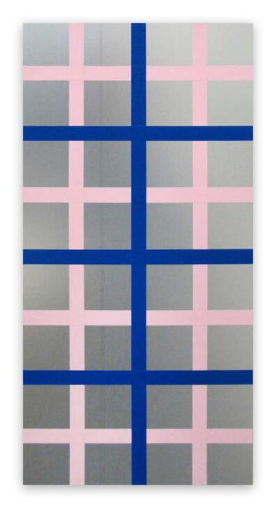 Daniel Göttin, 'Double Grid 4, 2016 (Abstract painting)', 2016
