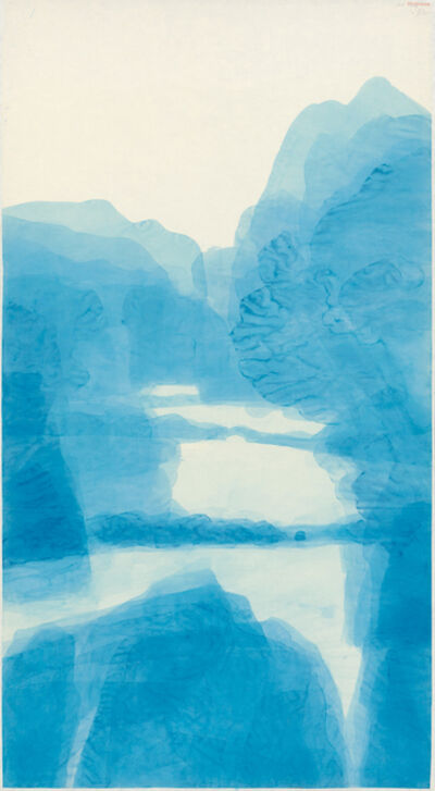 Wang Gongyi, 'Blue Mountain 1028', 2015-2016