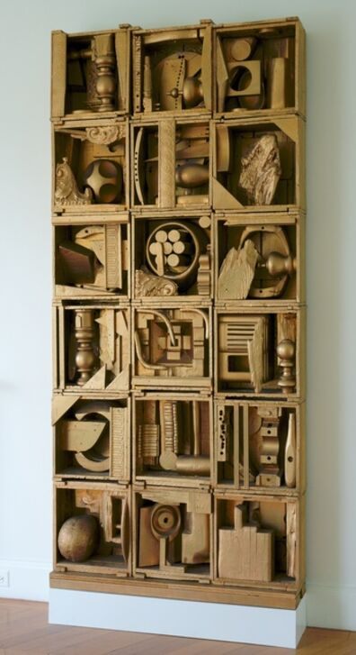 Louise Nevelson, 'Royal Tide I', 1960