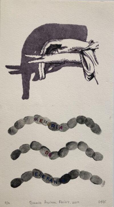 Yamilys Brito Jorge, 'Animal Series: Memoria De Elephanta', 2019