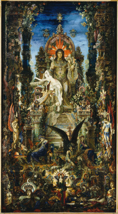 Gustave Moreau, 'Jupiter et Sémélé (Jupiter and Semele)', Commissioned in 1889-completed in 1895