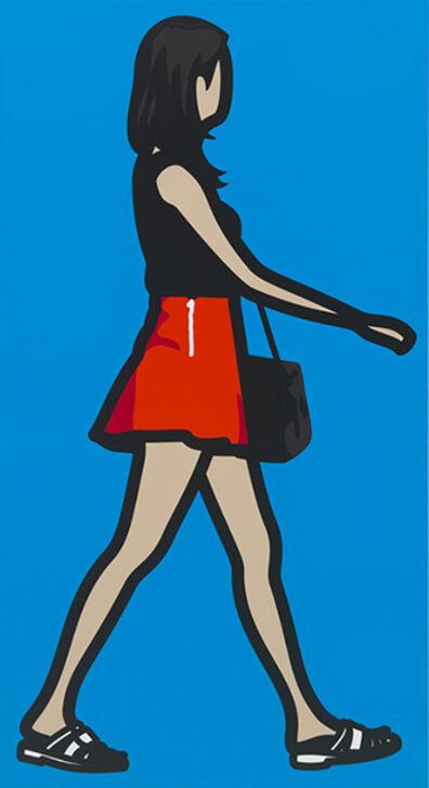 Julian Opie, 'Mini Skirt Girl 1', 2014