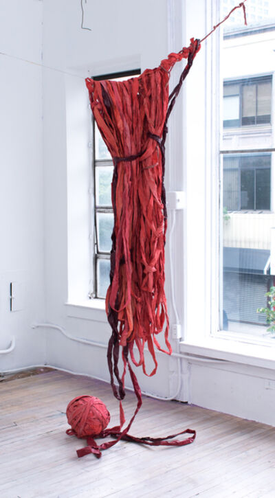Susan Doe, 'Threaded Red', 2017