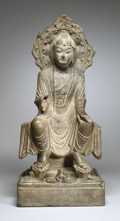 'Seated Maitreya', Early 8th century