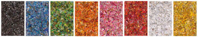 Vik Muniz, 'Repro (Monochromes): Eight Color Spectrum', 2017