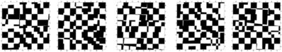 András Wolsky, 'Virus (On Chessboard with a Dice I.)', 1996