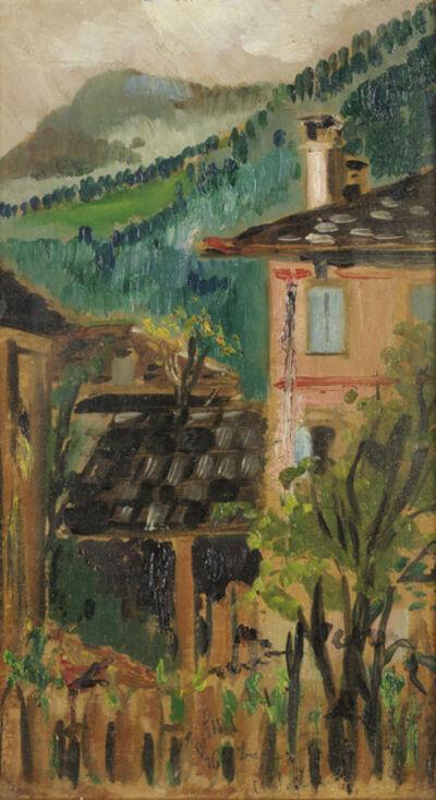 Filippo De Pisis, 'Paesaggio cadorino', 1926