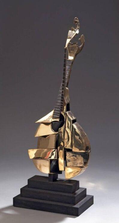 """Arman, 'Original Sculpture """"Portuguese Guitar"""" in Bronze by Arman'"""