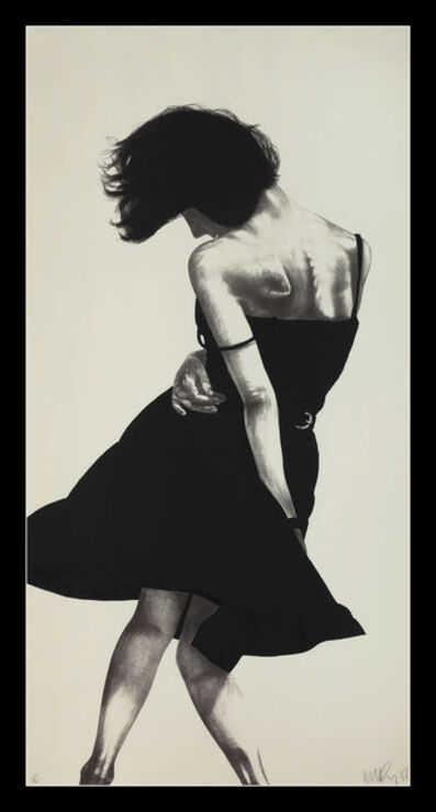 Robert Longo, 'Meryl from the Men in the Cities  ', 1988