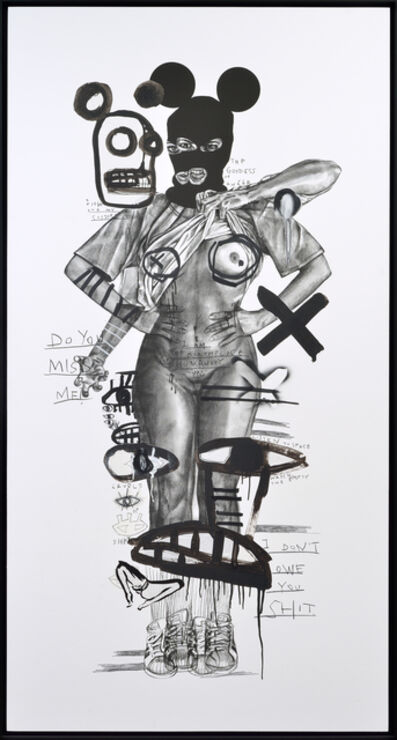 MissMe, 'The Goddess of Anger', 2019