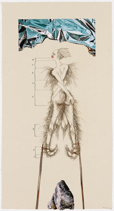 Wangechi Mutu, 'The Original Nine Daughters', 2012