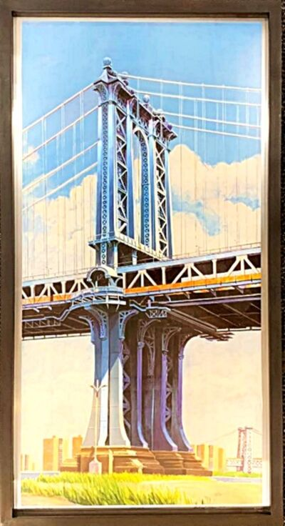 Richard Haas, 'Manhattan Bridge', 1999