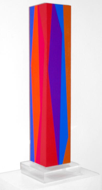 Karl Benjamin, 'Column #2', 1990