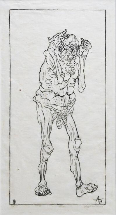 Peter Agostini, 'Studies in Ageing Apollo's #2', 1974